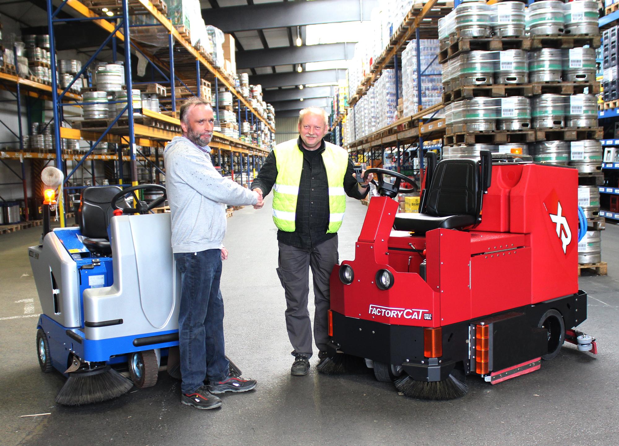 Getränke Essmann-Gruppe mit neuen Geräten ausgestattet | Projekte ...